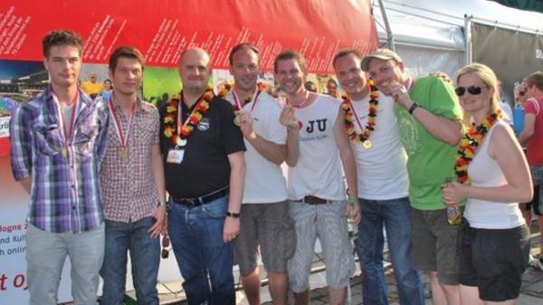Union stellt den besten Wagen auf dem Kölner CSD