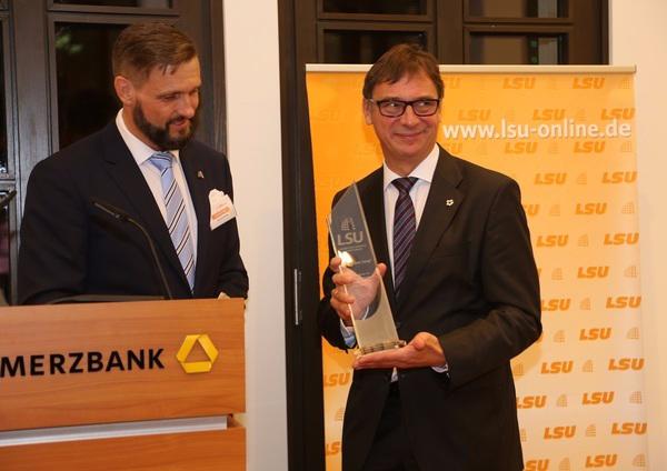 LSU-Jahresempfang mit Verleihung des LSU-Ehrenpreises an Dr. Volker Jung