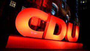 34. CDU Parteitag in Stuttgart